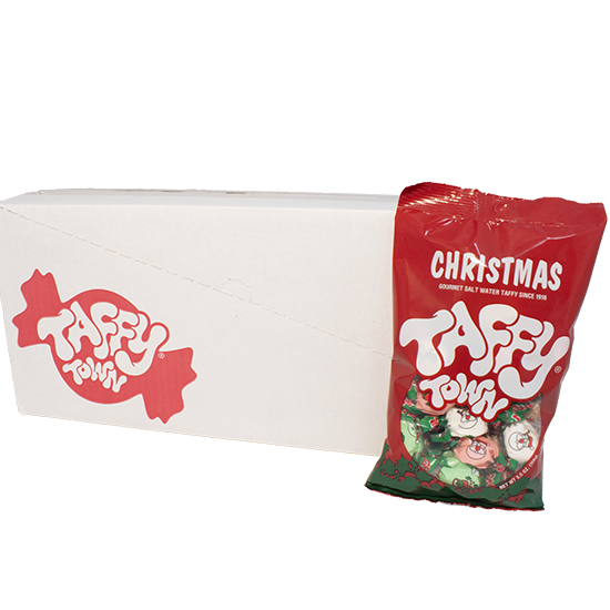 Christmas Mix Taffy (5 oz.) (Case of 12)