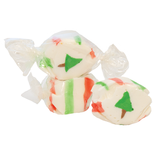 Eggnog Christmas Trees Taffy