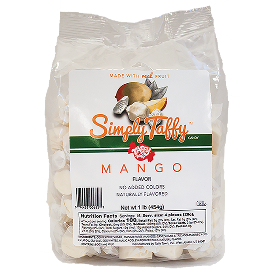 Simply Mango Taffy (1 lb. Bag)