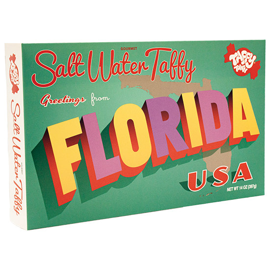 Florida Taffy Gift Box (14 oz.)
