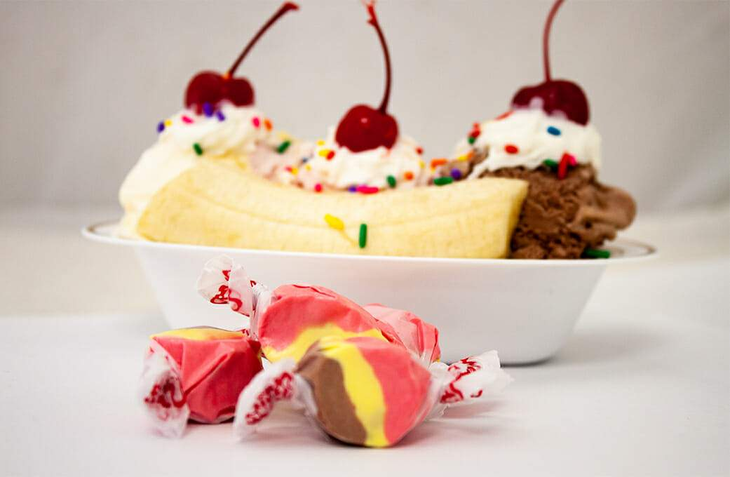Banana Split Taffy
