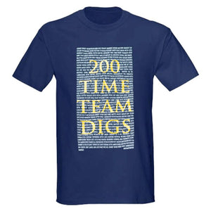 Time Team Limited Edition '200 Digs Shirt' 25th Anniversary