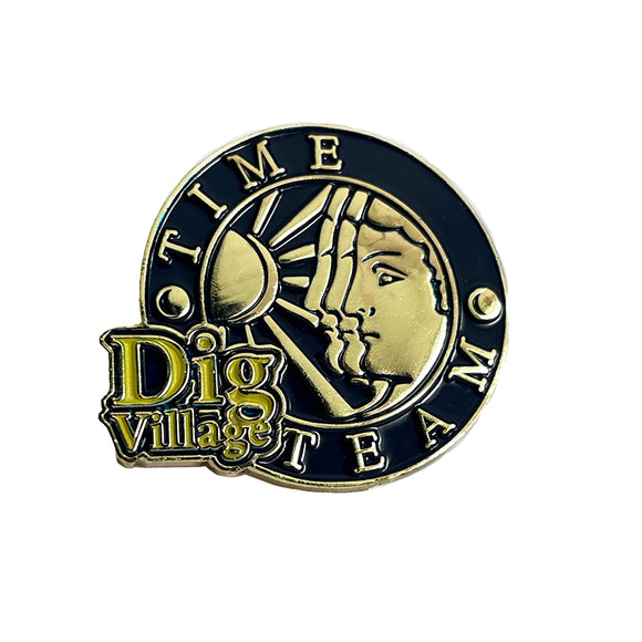 Dig Village Large Pin Badge