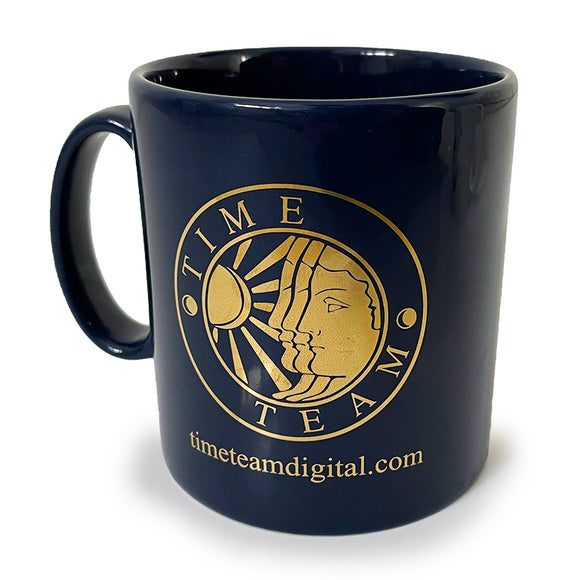 Time Team Gold Mug