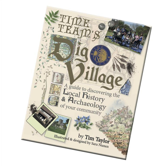 Time Team's Dig Village Book, Limited Edition (Hardback)