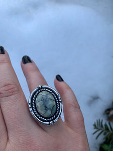 Ivory Creek Ice Queen Ring