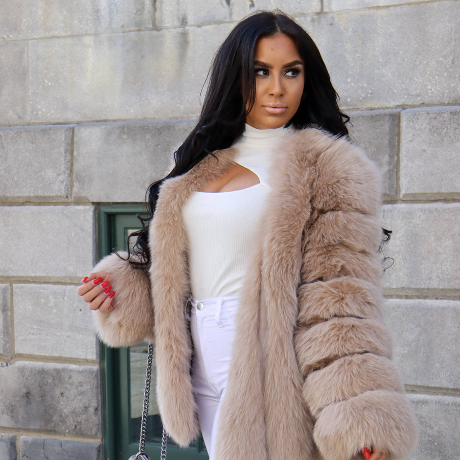 Classic Fox Fur Coat