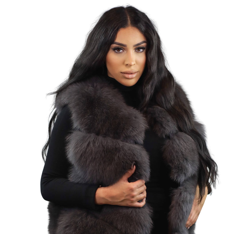 Anna Fox Long Fur Vest