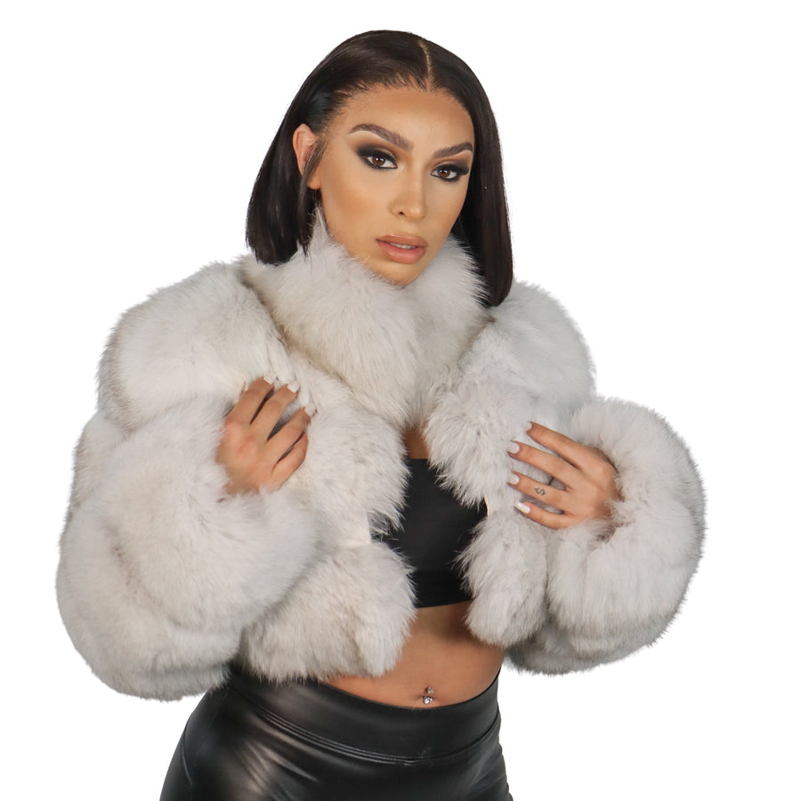 Ivy Fox Fur Coat