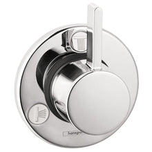 Load image into Gallery viewer, Hansgrohe 04232000 S Trio/Quattro Diverter Trim - Less Valve in Chrome