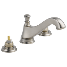 Load image into Gallery viewer, Delta 3595LF-MPU-LHP Cassidy Two Handle Widespread Lavatory Faucet - Low Arc Spout - Less Handles