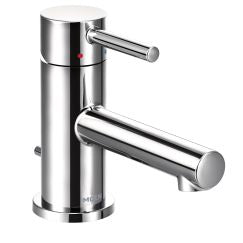 Moen 6191 Align One Handle Low Arc Low Profile Bathroom Faucet in Chrome