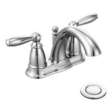 Load image into Gallery viewer, Moen 6610 Brantford Two Handle High Arc Bathroom Faucet in Chrome