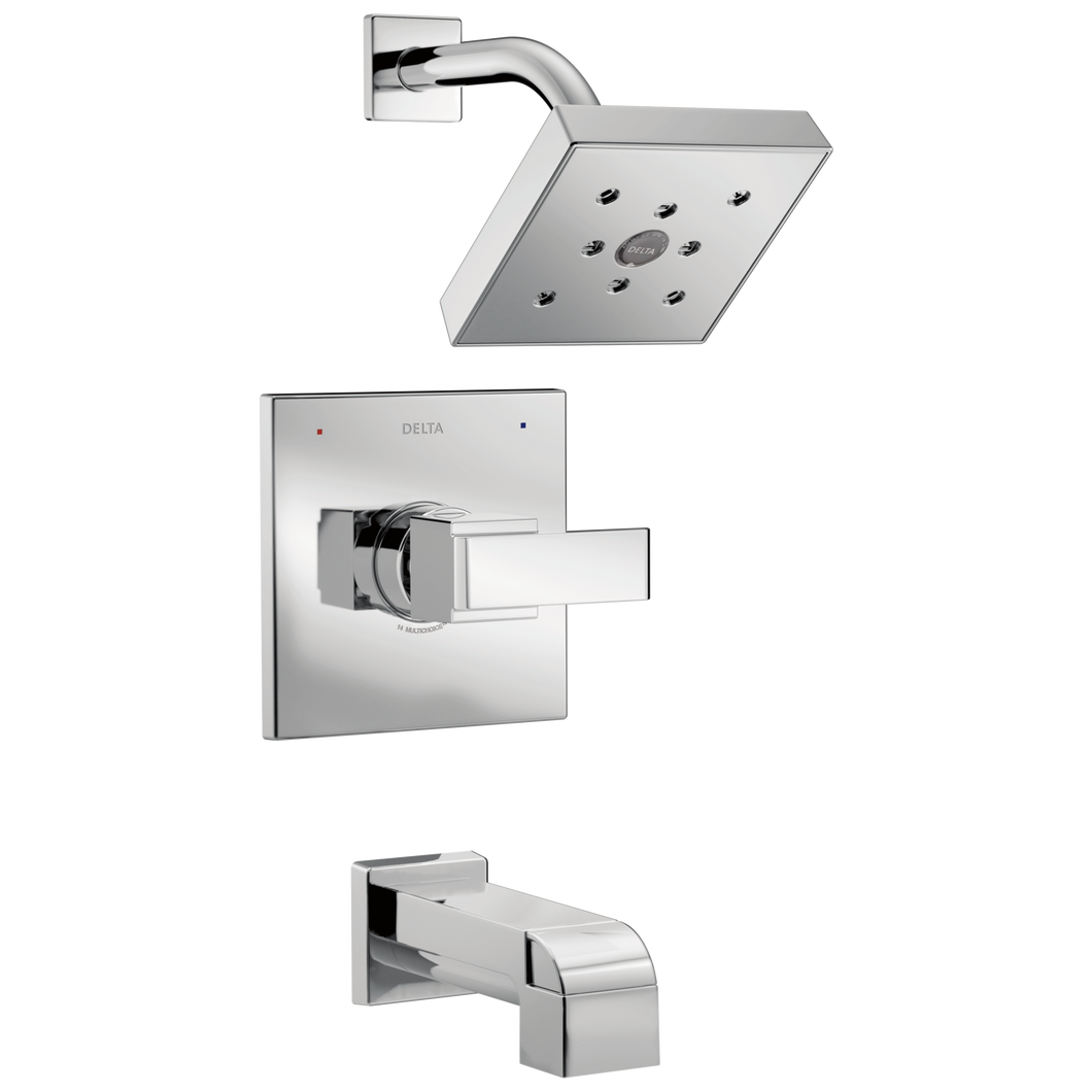 Delta T14467 Ara Monitor 14 Series H2okinetic Tub and Shower Trim