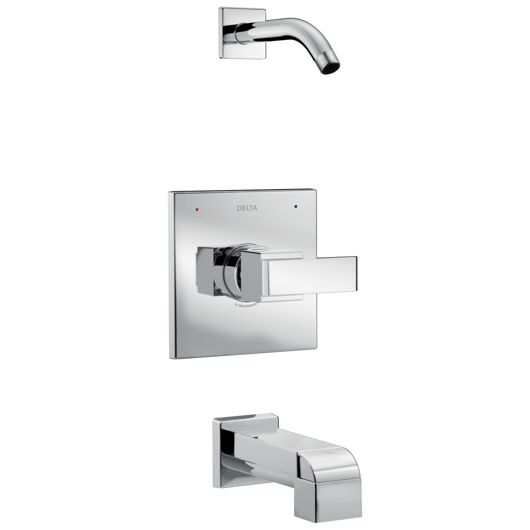 Delta T14467-LHD Ara Monitor 14 Series Tub and Shower Trim - Less Head