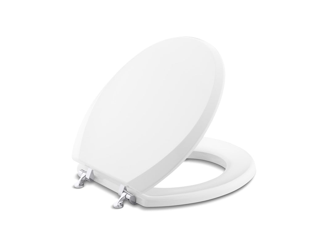 Kallista P70033-CP-0 Stafford Colored Toilet Seat, Round