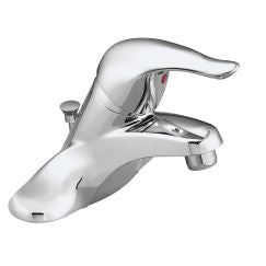 Moen L4621 Chateau One Handle Low Arc Bathroom Faucet with Lifetime in Chrome