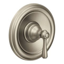 Load image into Gallery viewer, Moen T2111 Kingsley Collection Single Handle Posi-Temp Pressure Balanced Valve Trim in Brushed Nickel