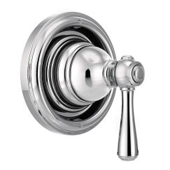 Moen T4311 Kingsley Single Handle Transfer Valve Trim Kit in Chrome