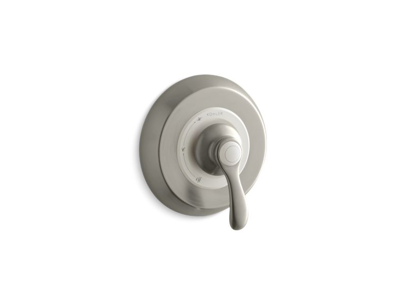 KOHLER TS12021-4-BN Fairfax Rite-Temp(R) Valve Trim With Lever Handle in Vibrant Brushed Nickel