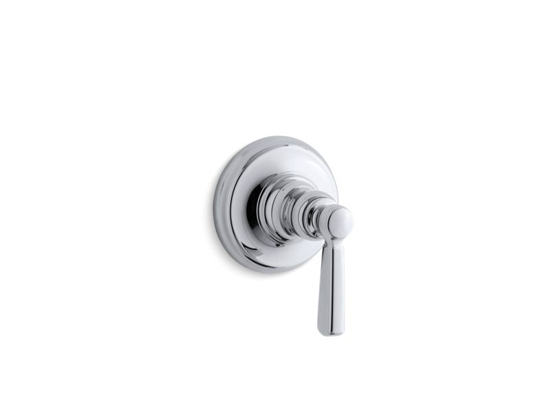KOHLER T10596-4-CP Bancroft Trim With Metal Lever Handle For Volume Control Valve, Requires Valve in Polished Chrome