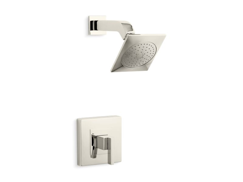 KOHLER TS14670-4-SN Loure Rite-Temp Shower Trim Set, Valve Not Included in Vibrant Polished Nickel