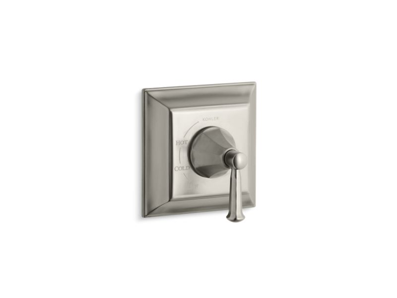 KOHLER TS463-4S-BN Memoirs Stately Rite-Temp Valve Trim With Lever Handle in Vibrant Brushed Nickel