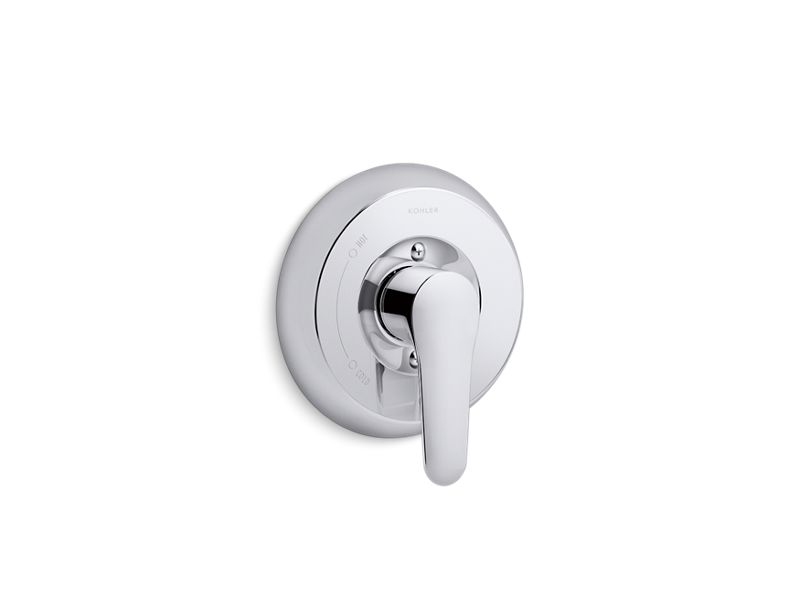 KOHLER TS98147-4-CP July Rite-Temp(R) Valve Trim With Lever Handle in Polished Chrome
