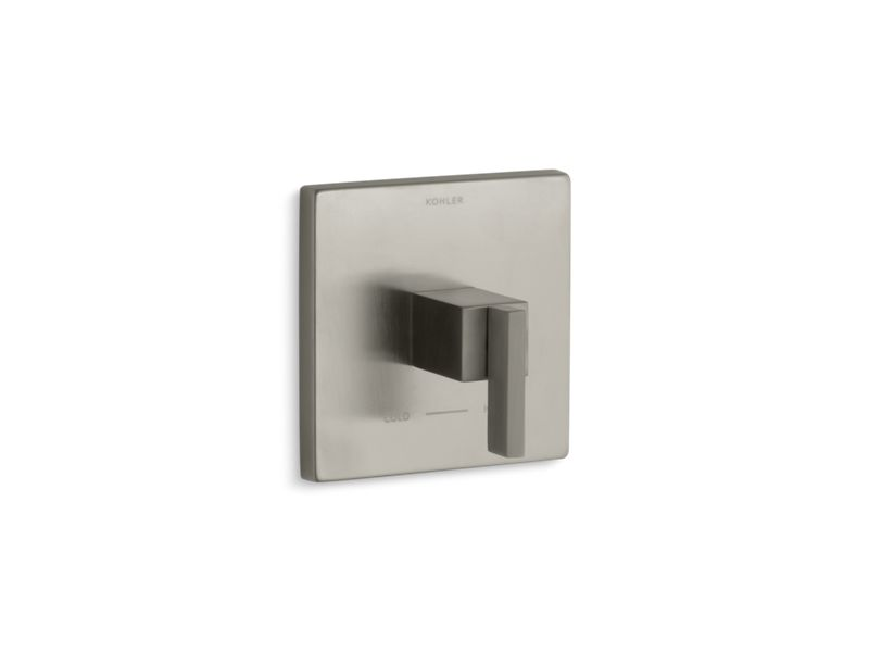 KOHLER T14672-4-BN Loure Thermostatic Valve Trim in Vibrant Brushed Nickel