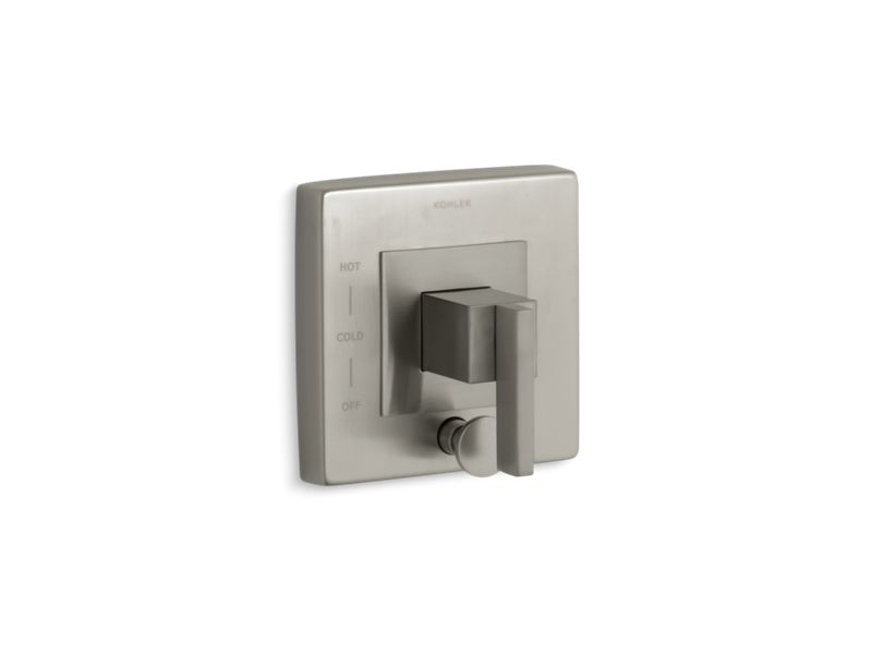 KOHLER T14668-4-BN Loure Rite-Temp(R) Valve Trim With Diverter in Vibrant Brushed Nickel