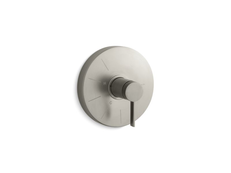 KOHLER TS950-4-BN Stillness Rite-Temp(R) Valve Trim With Lever Handle in Vibrant Brushed Nickel