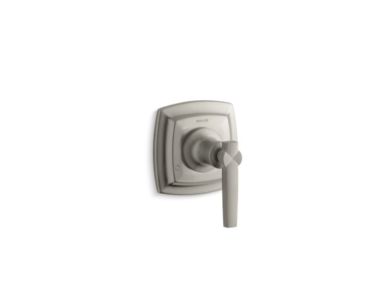 KOHLER T16242-4-BN Margaux Valve Trim With Lever Handle For Transfer Valve, Requires Valve in Vibrant Brushed Nickel