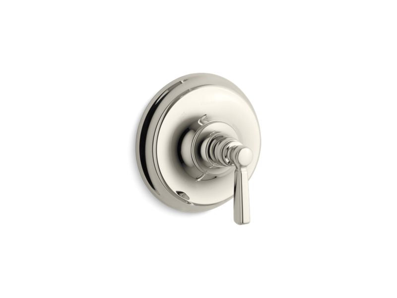 KOHLER TS10584-4-SN Bancroft Rite-Temp(R) Valve Trim With Metal Lever Handle in Vibrant Polished Nickel