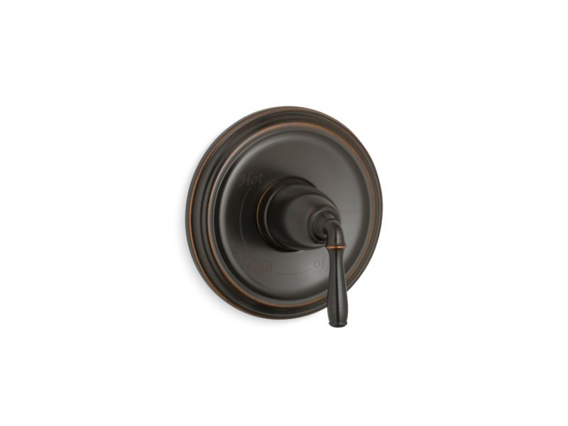 KOHLER TS397-4-2BZ Devonshire Rite-Temp(R) Valve Trim With Lever Handle in Oil-Rubbed Bronze