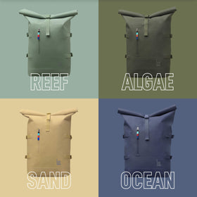 ROLLTOP BACKPACK (colours)