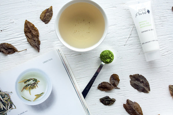 green tea in skin care