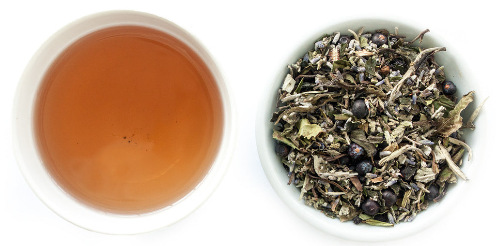 juniper sage white tea