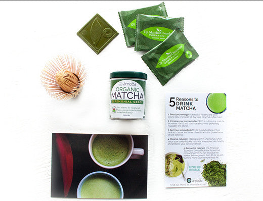 matcha mother's day gift set