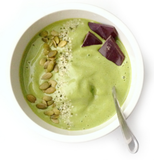 Matcha, pineapple, banana, spinach smoothie bowl made with Classic grade matcha!