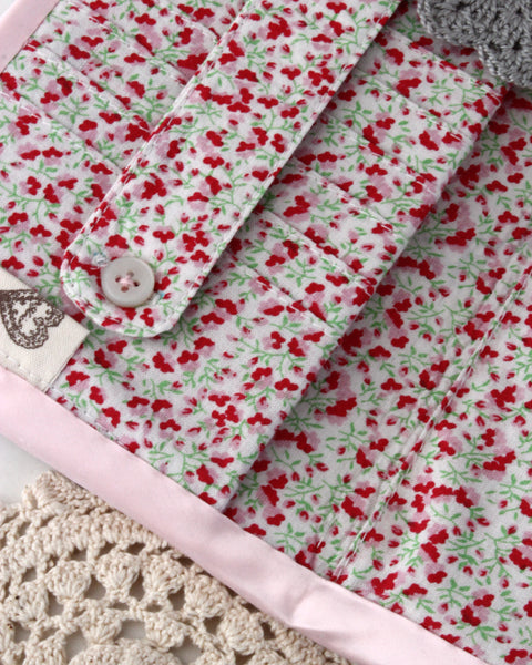 Wallet - Crochet Baby Pink Polka Dots | On Sale