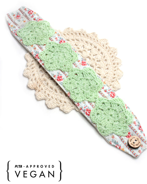 Crochet Bracelet - Green | On Sale