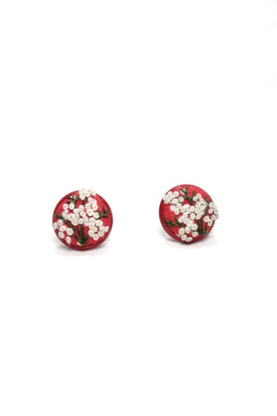 NEW | Embroidery Studs Earrings - French Knots