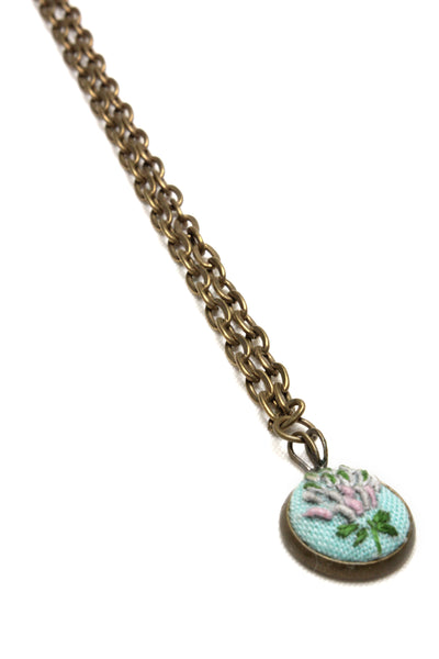NEW | Embroidery Necklace - Flower