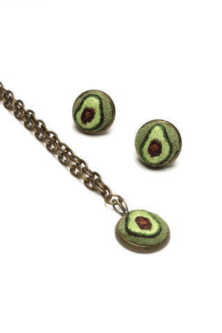 NEW | Embroidery Set - Avocado