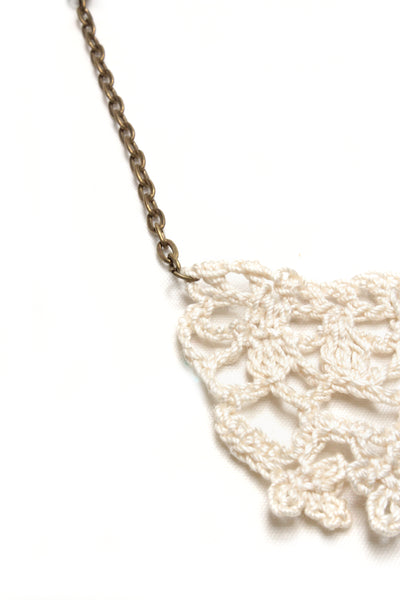 NEW | Crochet Necklace - Lace & Flowers