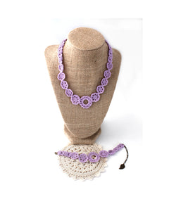 Crochet Set - Lilac | On Sale