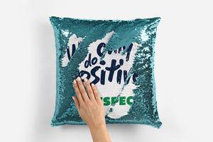 Create Your Own Sequin Cushion
