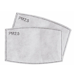 Spare PM2.5 Filters for Face Masks (PACK of 2)