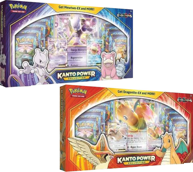 Kanto Power Collection