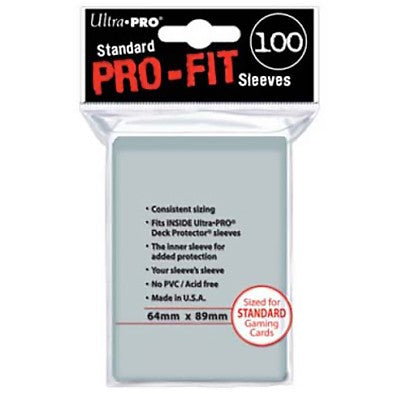Ultra PRO PRO-FIT Sleeves (100 count)